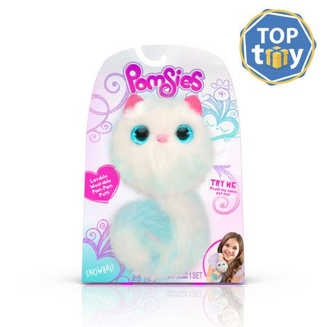 Pomsies Lovable Wearable Pet Snowball - image 1 of 4