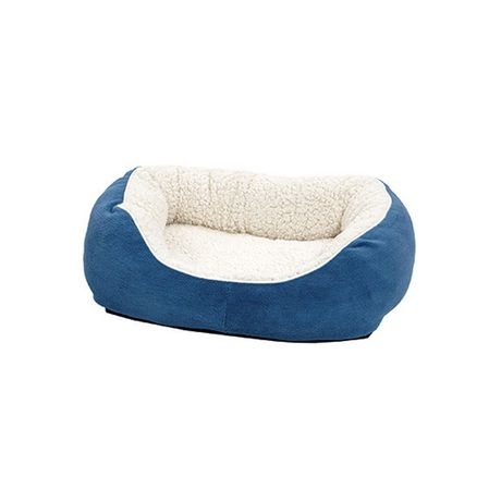 Midwest Homes For Pets Quiet Time Boutique Blue Dog Bed