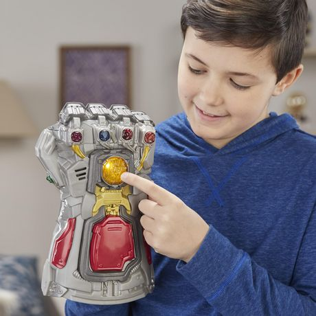 Marvel Avengers Phase finale, gant électronique pour jeu de rôle avec lumières et effets sonores, pour enfants, à partir de 5 ans - image 4 de 5