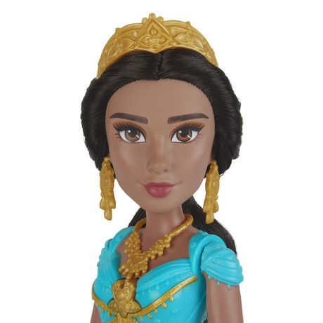 "Disney Singing Jasmine Doll with Outfit and Accessories, Inspired by Disney's Aladdin Live-Action Movie, Sings ""A Whole New World,"" Toy for 3 Year Olds - image 7 of 8"