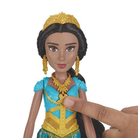 "Disney Singing Jasmine Doll with Outfit and Accessories, Inspired by Disney's Aladdin Live-Action Movie, Sings ""A Whole New World,"" Toy for 3 Year Olds - image 5 of 8"