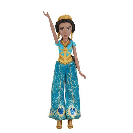 "Disney Singing Jasmine Doll with Outfit and Accessories, Inspired by Disney's Aladdin Live-Action Movie, Sings ""A Whole New World,"" Toy for 3 Year Olds - image 3 of 8"