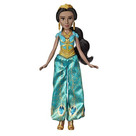 "Disney Singing Jasmine Doll with Outfit and Accessories, Inspired by Disney's Aladdin Live-Action Movie, Sings ""A Whole New World,"" Toy for 3 Year Olds - image 2 of 8"
