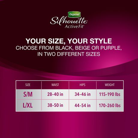 Depend Silhouette Incontinence Underwear for Women, Maximum Absorbency - image 5 of 6