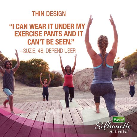 Depend Silhouette Incontinence Underwear for Women, Maximum Absorbency - image 4 of 6