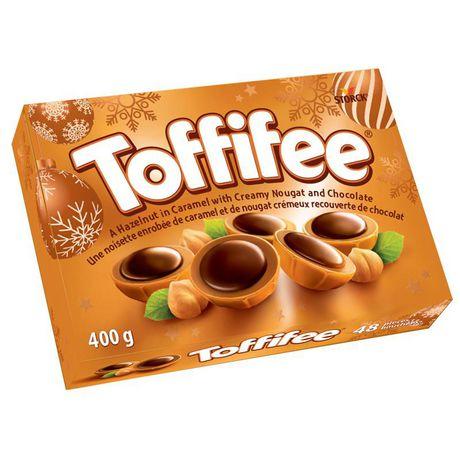 Chocolat aux noisettes enrobées de caramel et de nougat crémeux de Toffifee - image 1 de 2