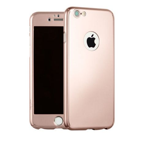 uk availability 10c36 f53e5 Gel Grip Reborn Rose Gold Case for iPhone 6/6S (tempered Glass Screen  Protector Included)