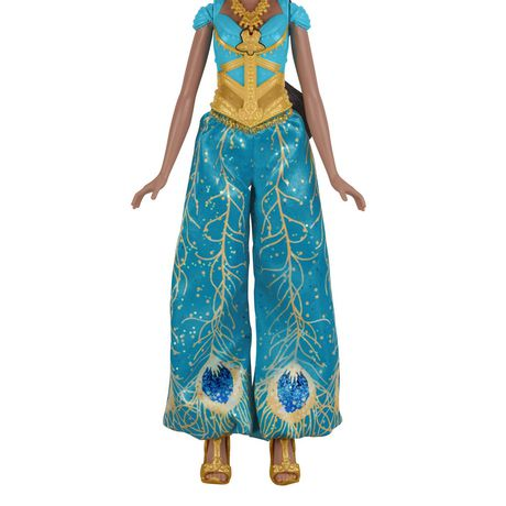 "Disney Singing Jasmine Doll with Outfit and Accessories, Inspired by Disney's Aladdin Live-Action Movie, Sings ""A Whole New World,"" Toy for 3 Year Olds - image 4 of 8"