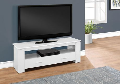 Monarch Specialties Inc Monarch Specialties White TV Console - image 1 of 3