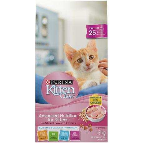 Kitten Chow Advanced Nutrition Dry Kitten Food - image 1 of 4