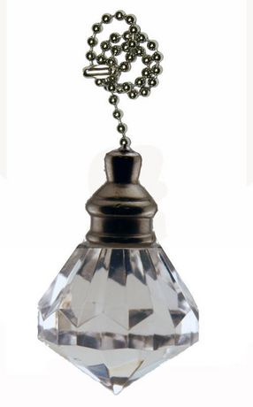 Atron Electro Industries Acrylic Ball Pull Chain - image 1 of 1