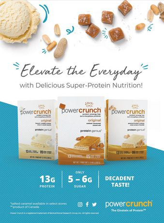 Power Crunch Protein Energy Bars Peanut Butter Crème - image 3 of 3