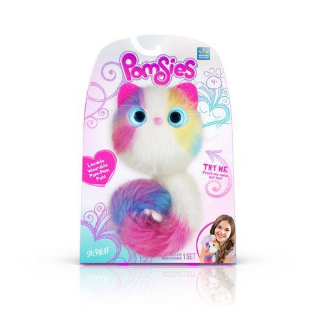 Pomsies Lovable Wearable Pet Sherbert - image 1 of 4