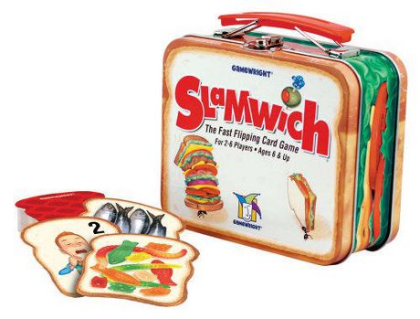 Gamewright Slamwich Collectors Edition in Tin The Fast Flipping Card Game -  English Only