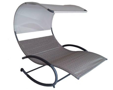Chaise berçante double Vivere - image 1 de 2