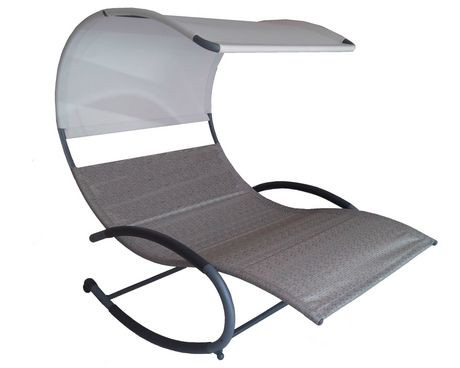 Vivere double chaise rocker walmart canada for Chaise bercante