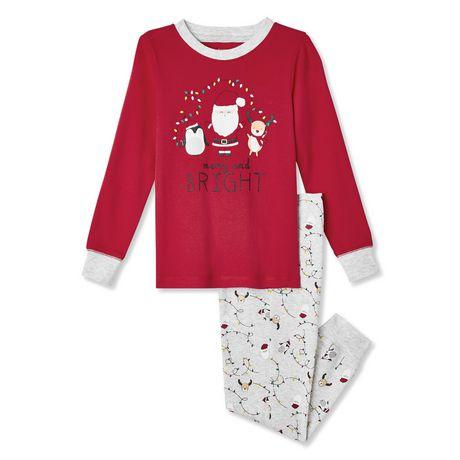 7a02847c63f64 Pyjama de Noël deux morceaux George pour petits garçons - image 1 de 2 ...