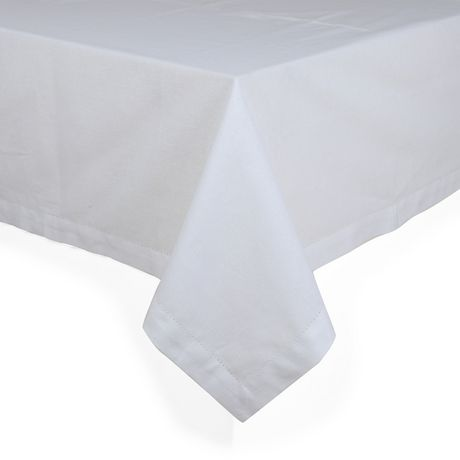 Hometrends Hemstitch Designs Table Cloth