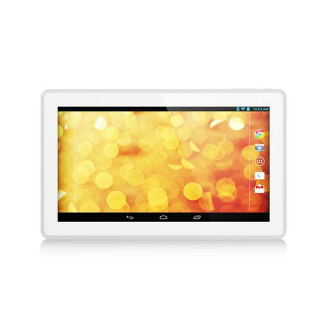 """Hipstreet 10.1"""" Quad Core Bluetooth Tablet - Phoenix - 16GB METAL BACK - SILVER - image 1 of 1"""