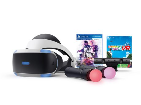 PlayStation®VR Blood & Truth and Everybody's Golf VR Bundle