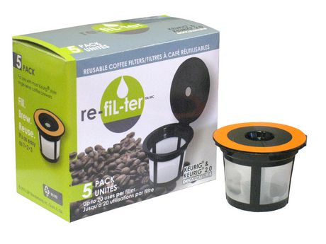 re-fiL-ter Reuseable Coffee Filters, 5 Pack - image 1 of 1