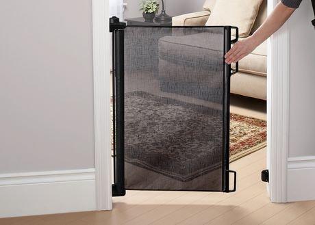 barri re de s curit r tractable de bily noire walmart canada. Black Bedroom Furniture Sets. Home Design Ideas