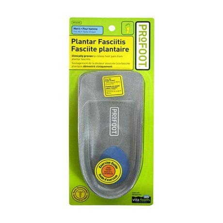 ProFoot® Plantar Fasciitis Men's Heel Support Insoles - image 1 of 4