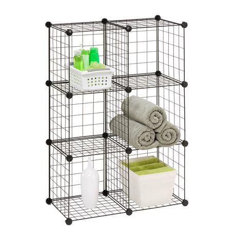 Honey-Can-Do 6-Pack Modular Mesh Storage Cube  sc 1 st  Walmart Canada & Honey-Can-Do 6-Pack Modular Mesh Storage Cube | Walmart Canada
