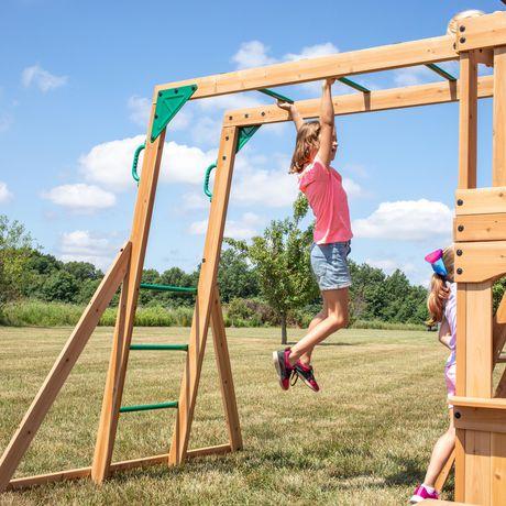 Backyard Discovery Montpelier Swing Set | Walmart Canada