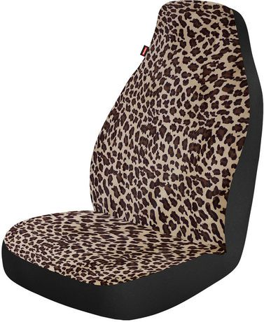 Who Rae Jungle Leopard Seat Cover