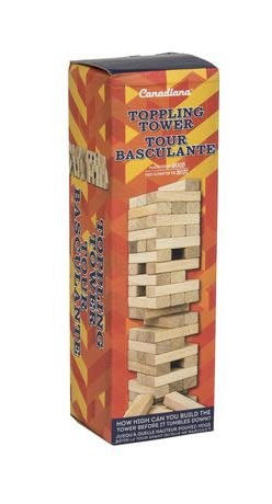 Canadiana Toppling Tower Wooden Blocks Set - image 1 of 1