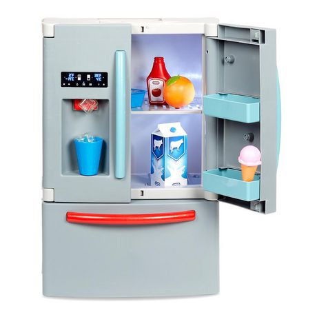 Little Tikes First Fridge Realistic Pretend Play Appliance For Kids Multicolour