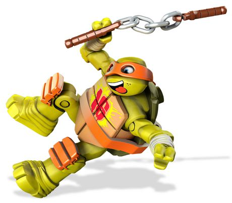 ensemble de jeu les tortues ninja de mega bloks voiture de course pizza de michelangelo walmartca