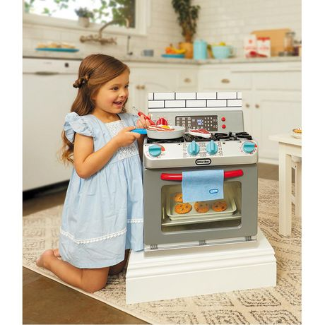 Little Tikes First Oven Realistic Pretend Play Appliance for Kids - image 3 of 5