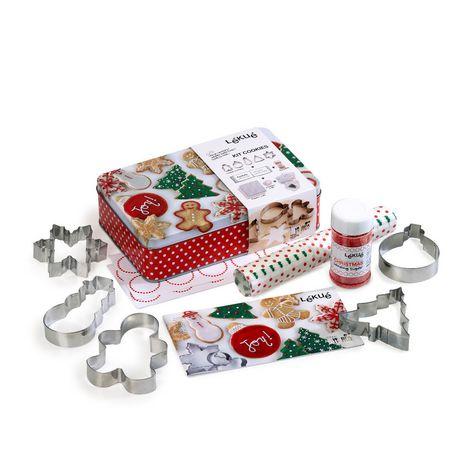Lekue Christmas Cookies Kit - image 1 of 8