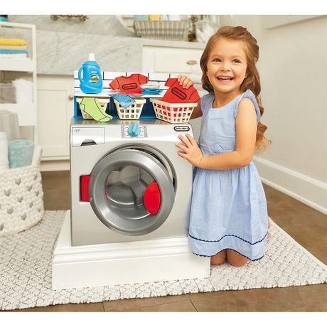 Little Tikes First Washer-Dryer Realistic Pretend Play Appliance for Kids - image 3 of 6
