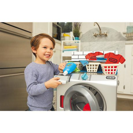 Little Tikes First Washer-Dryer Realistic Pretend Play Appliance for Kids - image 4 of 6