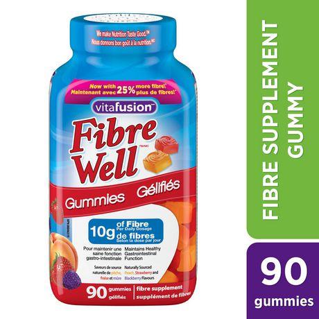 Vitafusion™ Fibre Well™ Fibre Supplement Gummies - image 1 of 2