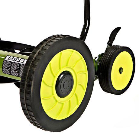 Sun Joe MJ502M Manual Reel Mower w/ Grass Catcher, 20 inch - image 4 of 6