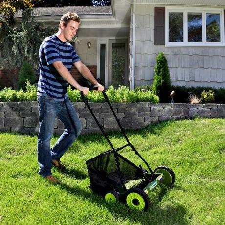 Sun Joe MJ502M Manual Reel Mower w/ Grass Catcher, 20 inch - image 6 of 6