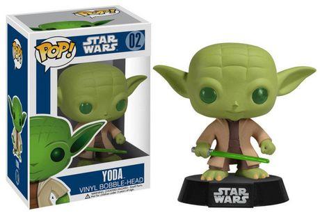 Funko POP! Star Wars Yoda Action Figure - image 1 of 1