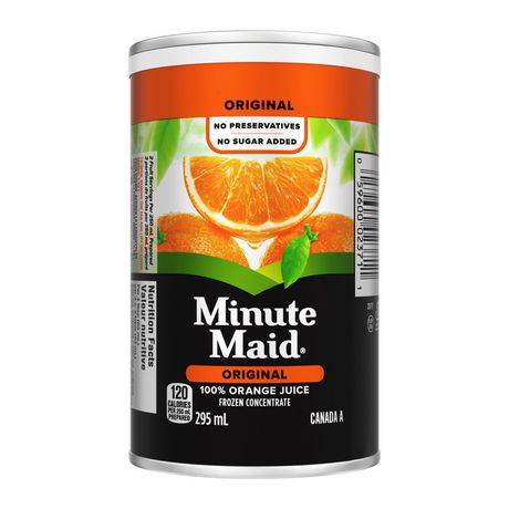 Minute Maid® Orange Juice Frozen Concentrate 295 mL Can - image 2 of 4