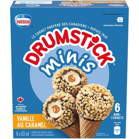 NESTLÉ® DRUMSTICK® Minis Vanilla Caramel 6-Pack - image 2 of 4