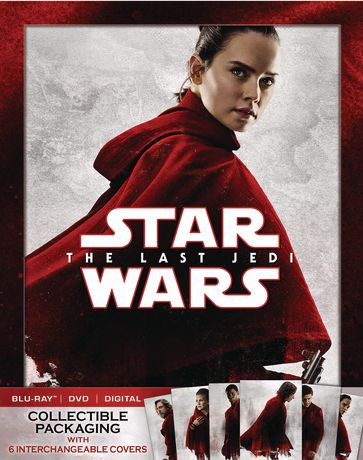 Star Wars: The Last Jedi (Blu-ray + DVD + Digital HD) (Walmart Exclusive - Collectible Packaging) - image 1 of 1