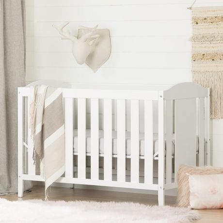 b78048a9408f South Shore Angel 2 in 1 Crib and Toddler Bed - image 1 of 9 ...