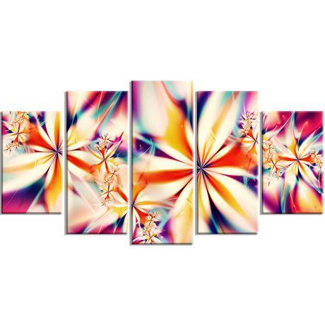 D coration murale sur toile design art motif de art for Decoration murale walmart