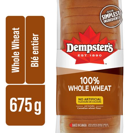 Dempster's®  100% Whole Wheat Bread - image 1 of 7