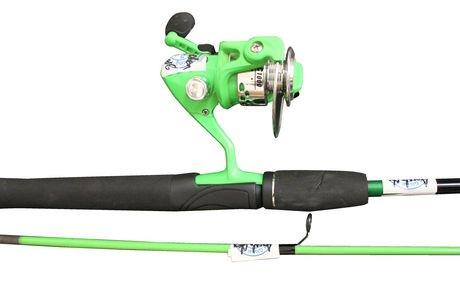 Outdoor angler 6 39 spinning rod reel combo walmart canada for Best walmart fishing combo