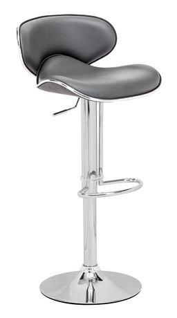 Chaise de bar fly de zuo modern en gris walmart canada - Chaise de bar fly ...