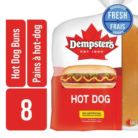Hot Dog Buns Packs Of